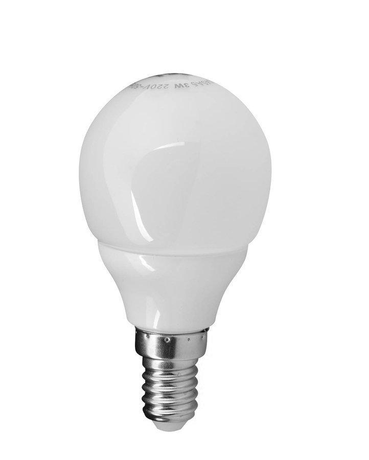 LED žárovka 3W, E14, 230V, denní bílá, 249lm