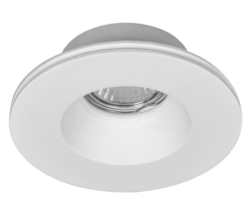 GIP podhledové sádrové svítidlo 130 mm, GU10, max 35W