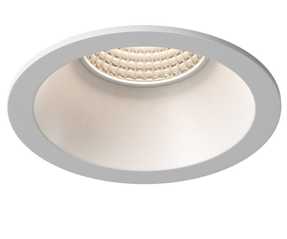 WICK podhledové hliníkové svítidlo 82 mm, GU10, max 35W, bílá mat