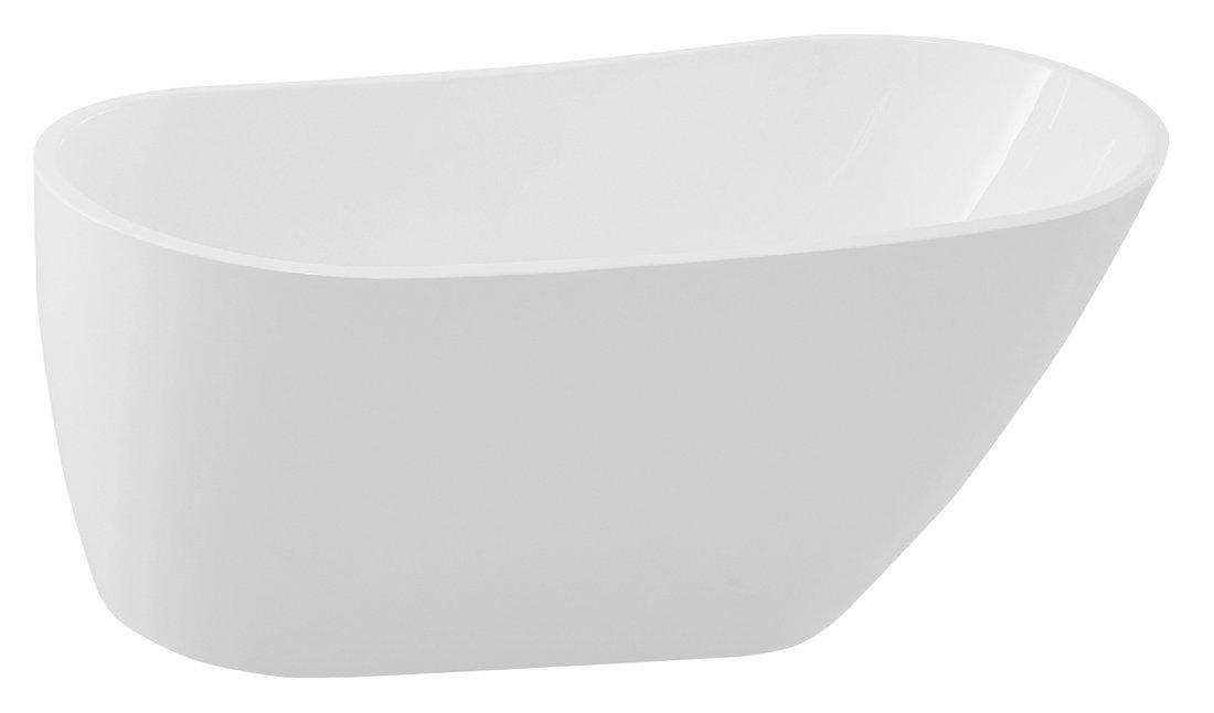 TISA volně stojící vana, 150x75 cm, bílá