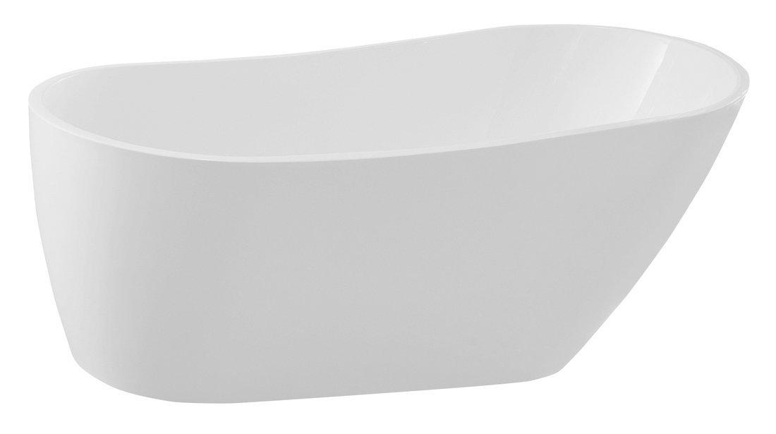 TISA volně stojící vana, 170x80 cm, bílá