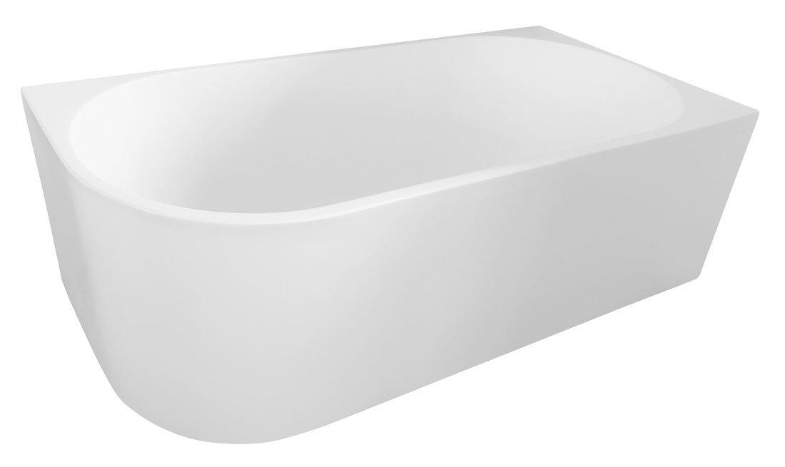 TIBERA R volně stojící vana, 170x80 cm, bílá