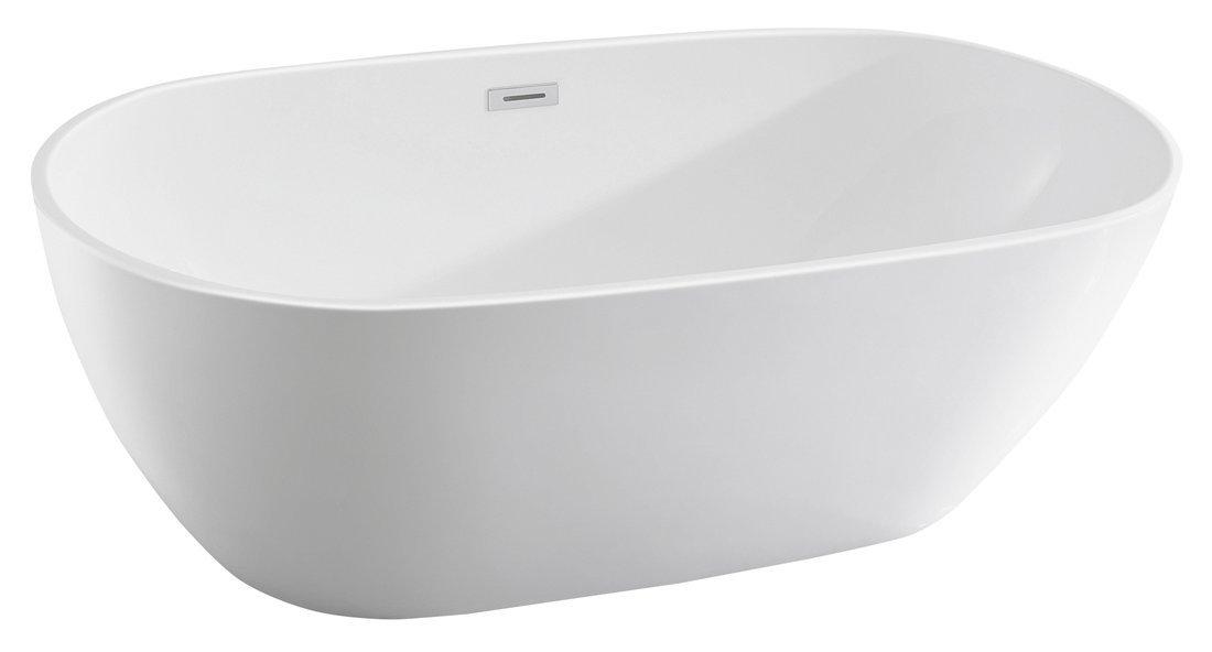 DOURO volně stojící vana, 180x80 cm, bílá