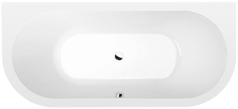 VIVA D akrylátová vana 175x80x47cm, bílá