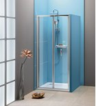 Photo: EASY LINE Infold Shower Door 1000mm, clear glass