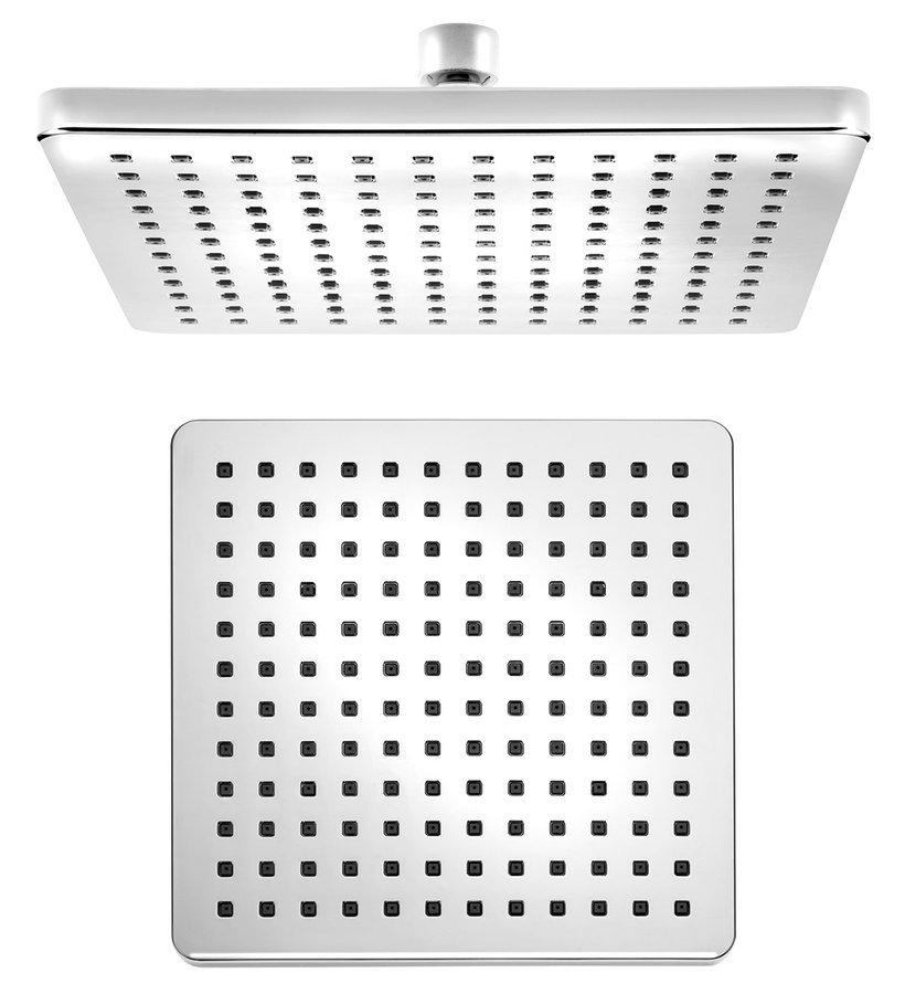 Hlavová sprcha 216x216mm, ABS/chrom