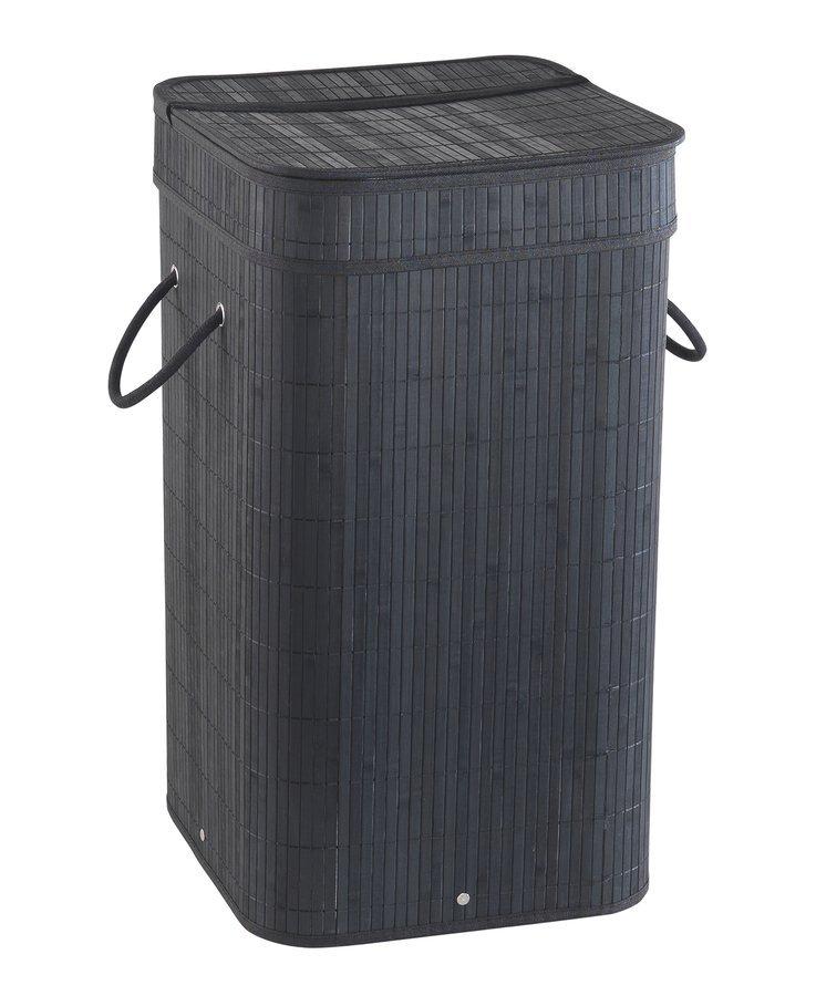 TATAMI koš na prádlo 35,5x63x35,5cm, černá