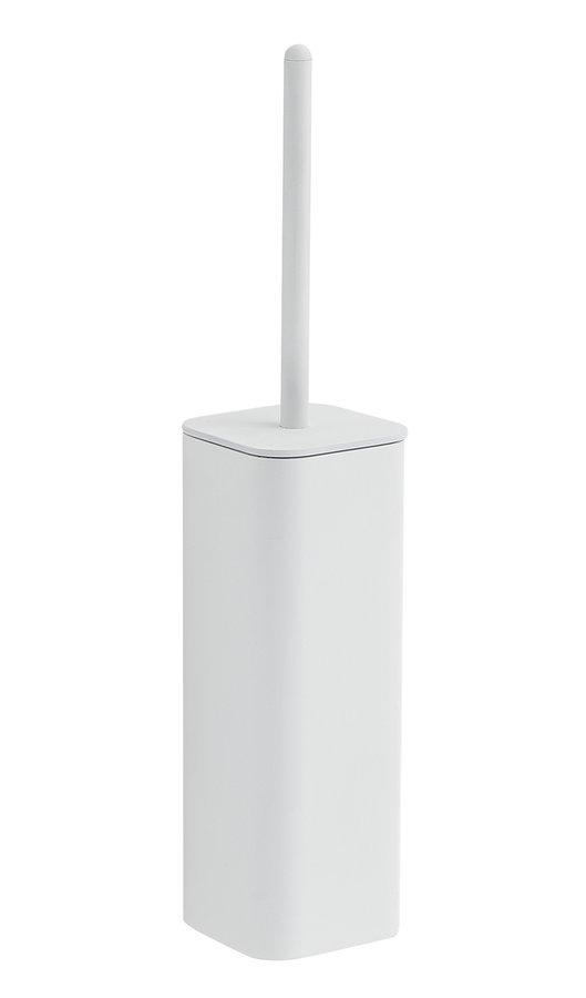 FLORI WC štětka závěsná, bílá mat
