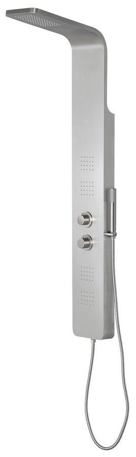 PRESTIGE termostatický sprchový panel 200x1400 mm, nerez