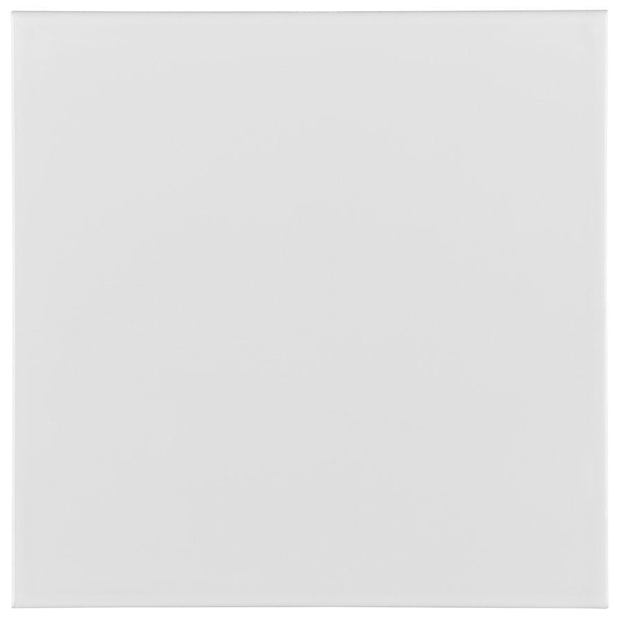 RIVIERA Liso Lido White 20x20 (bal=1,20m2)