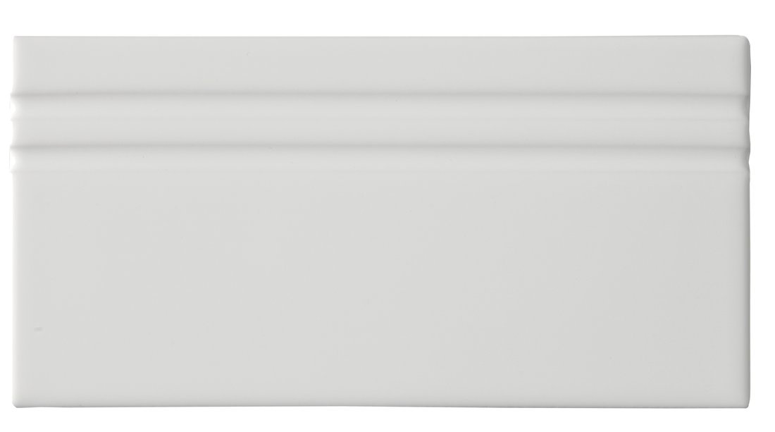 RIVIERA Rodapie Lido White 10x20