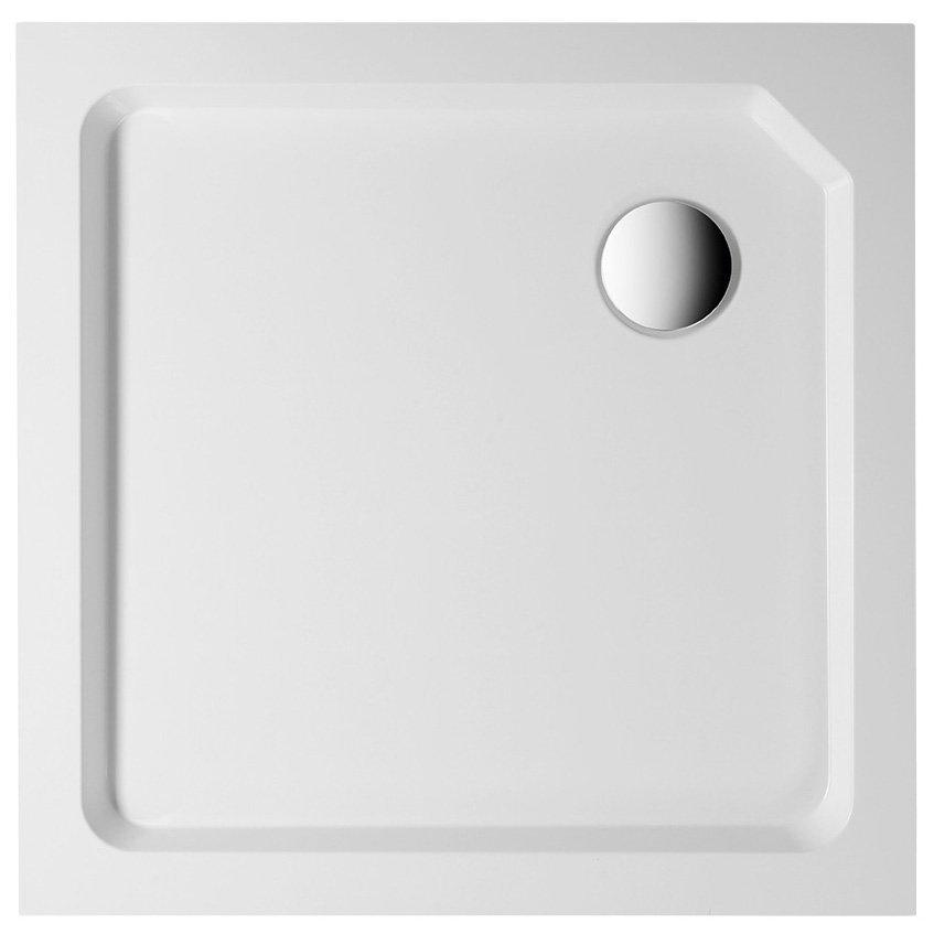 STARYL sprchová samonosná vanička čtverec 80x80x14cm