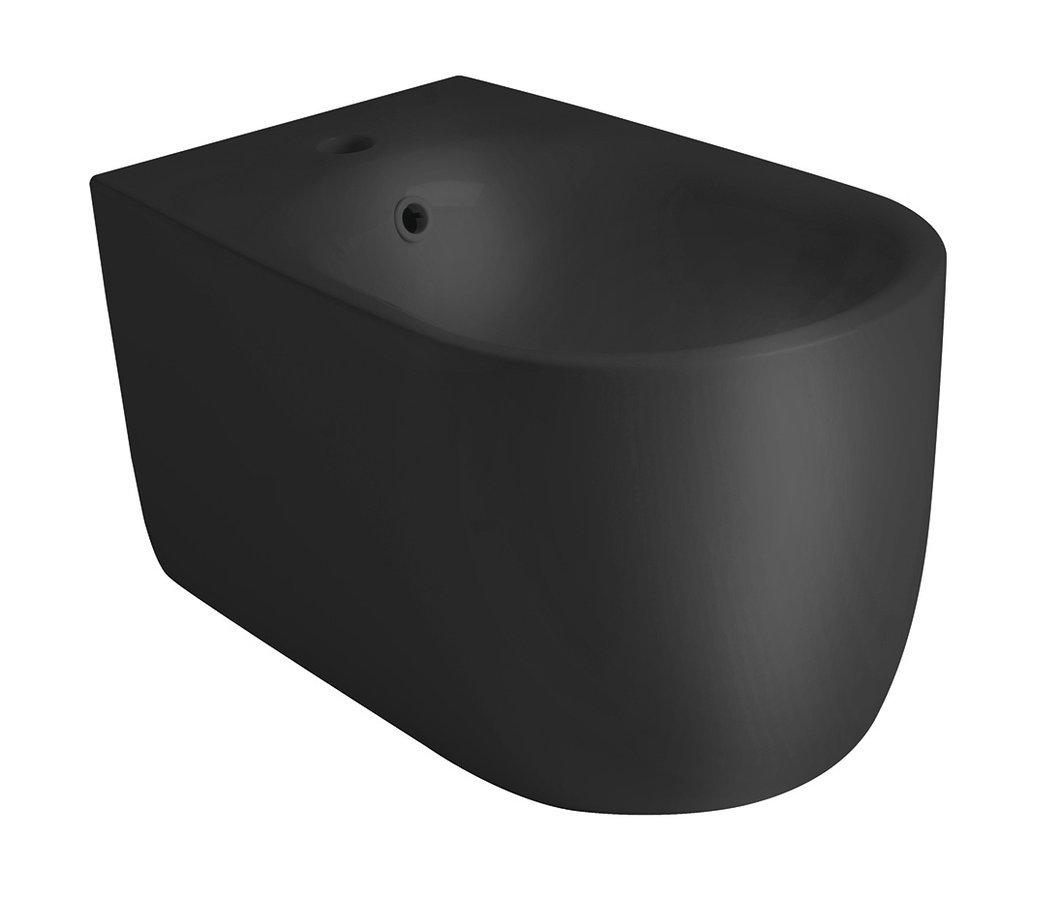 NOLITA bidet závěsný 35x33x55cm, černá mat