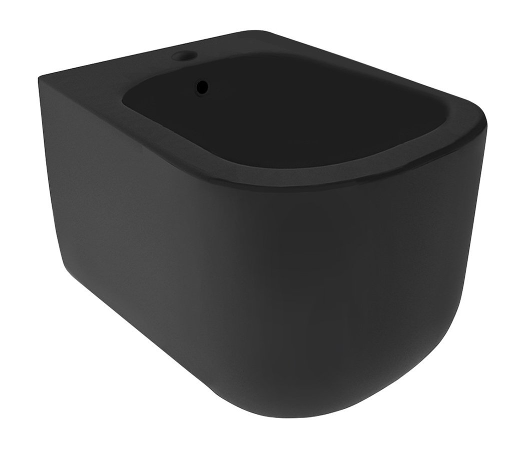 TRIBECA bidet závěsný 35x31,5x54cm, černá mat