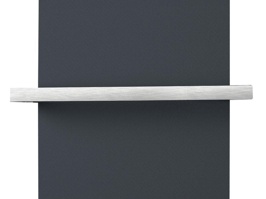 ELION držák ručníků pro těleso 606 mm, oboustranný, broušený nerez