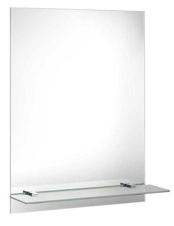 Zrcadlo 60x80cm, včetně závěsů, s otvory pro polici