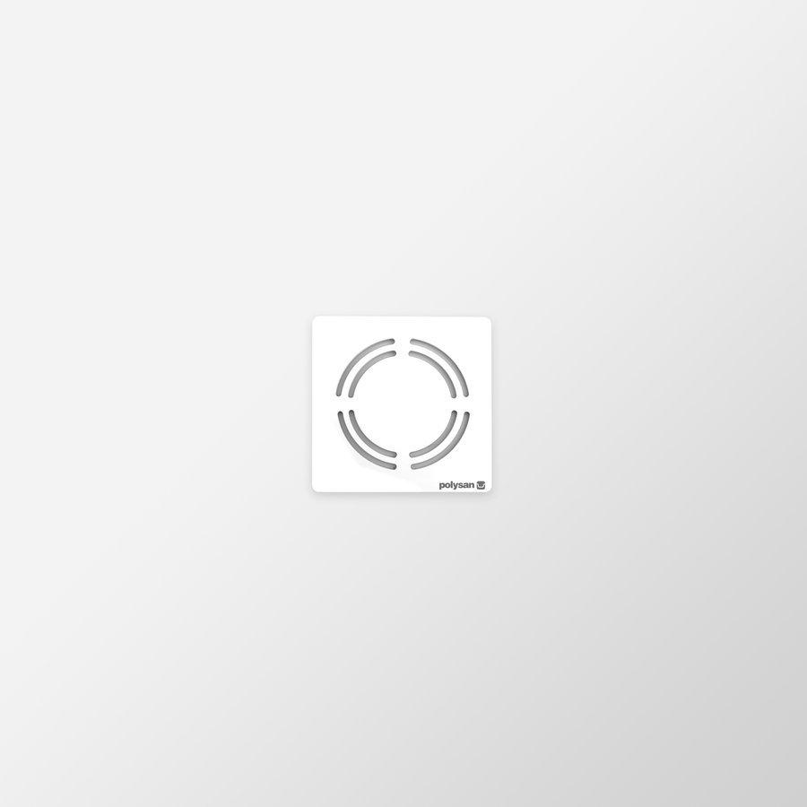 FLEXIA vanička z litého mramoru s možností úpravy rozměru, 80x80x3cm