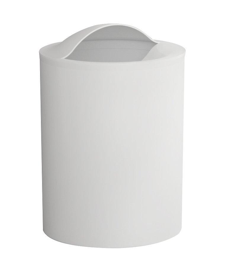 EYE odpadkový koš, 6 l, plast ABS, bílá