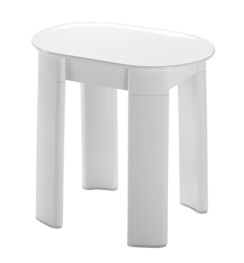 TETRA koupelnová stolička 42x41x27 cm, bílá