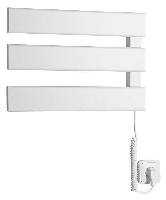 ELVIS elektrický sušák ručníků, 457x342x55mm, 50W, bílá
