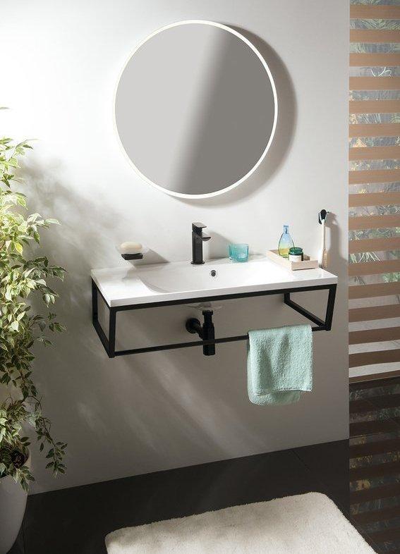 Koupelnový set SKA konstrukce 90, černá mat