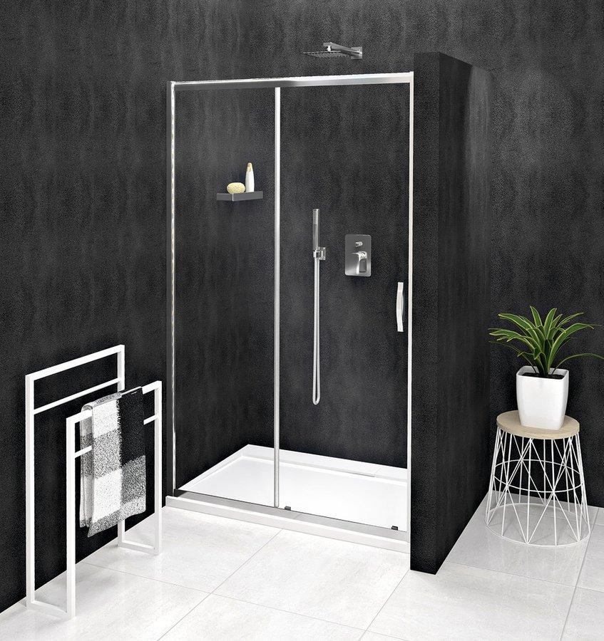 SIGMA SIMPLY sprchové dveře posuvné 1400 mm, čiré sklo