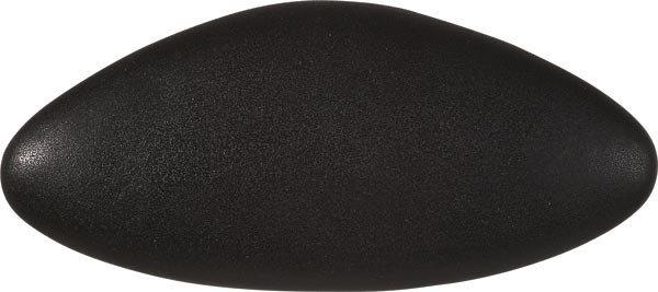 STAR podhlavník do vany 32x15cm, černá