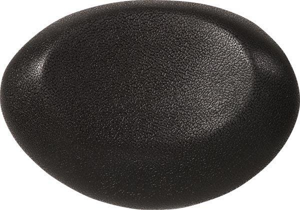 UFO podhlavník do vany 25x18cm, černá