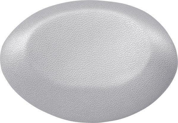 UFO podhlavník do vany 25x18cm, stříbrná