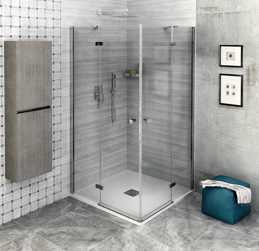 FORTIS LINE čtvercový sprchový kout 800x800 mm, rohový vstup