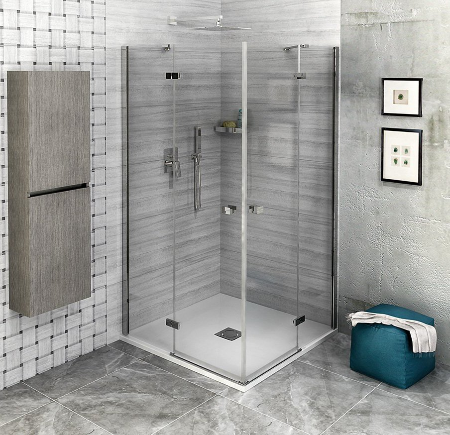 FORTIS LINE čtvercový sprchový kout 1500x1500 mm, rohový vstup