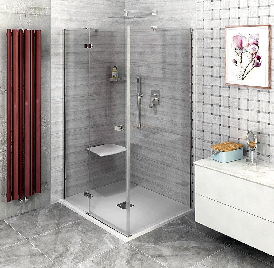 FORTIS LINE čtvercový sprchový kout 800x800 mm, L varianta