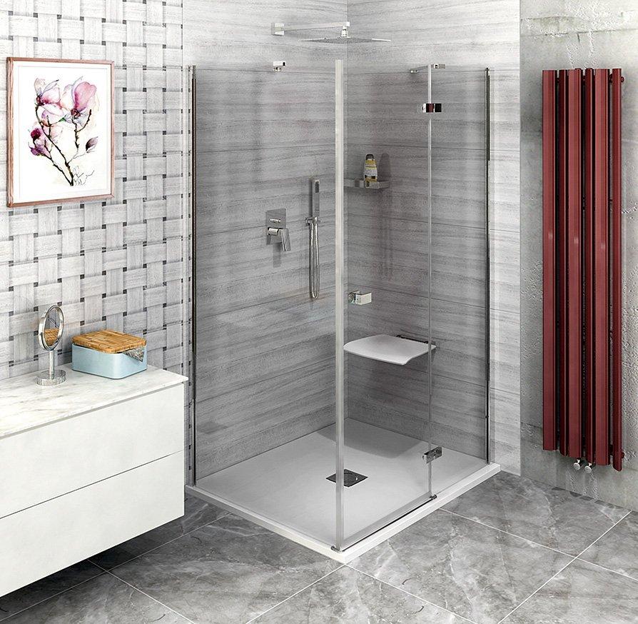 FORTIS LINE čtvercový sprchový kout 800x800 mm, R varianta