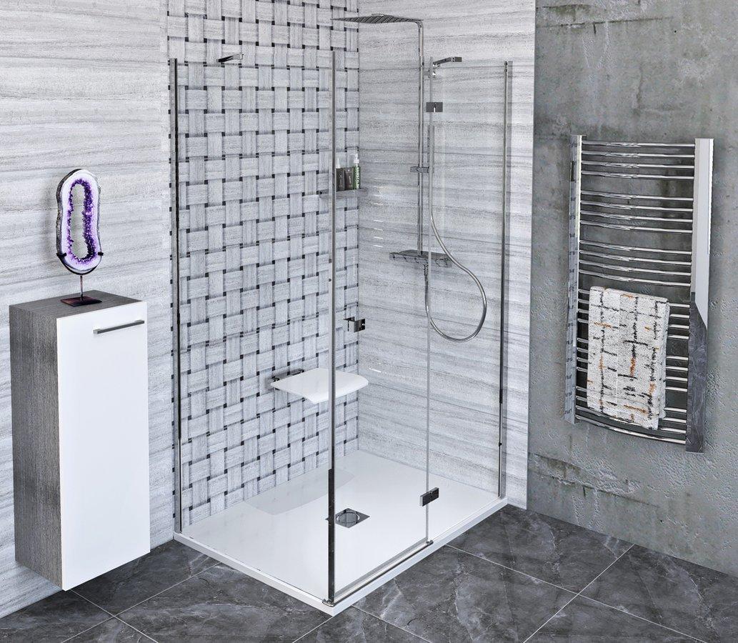 FORTIS LINE obdélníkový sprchový kout 1400x1000 mm, R varianta