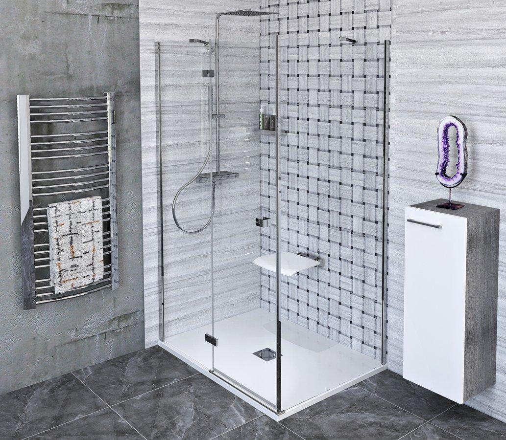 FORTIS LINE obdélníkový sprchový kout 1500x900 mm, L varianta