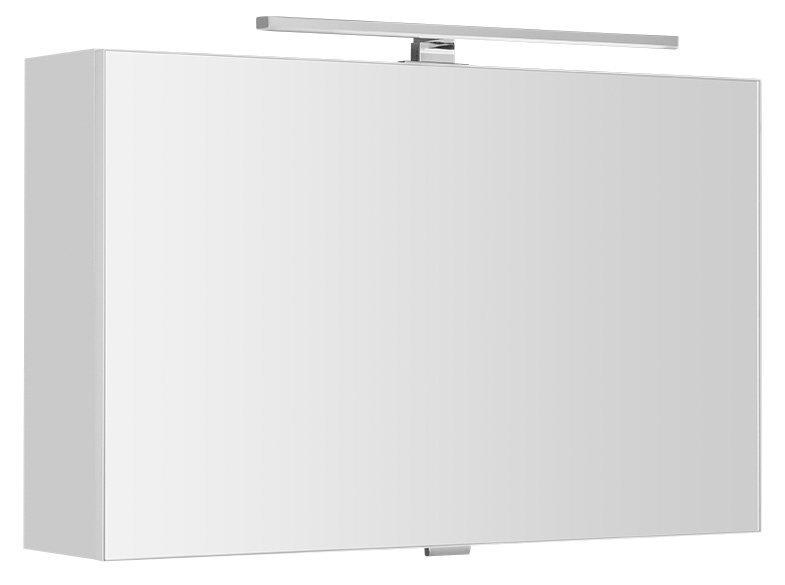 CLOE galerka s LED osvětlením 80x50x18cm, bílá (CE080)