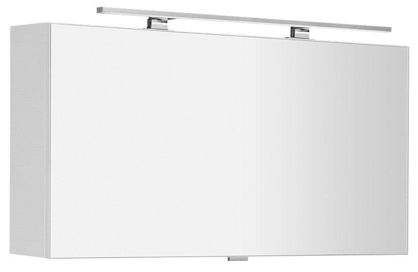 CLOE galerka s LED osvětlením 100x50x18cm, bílá (CE100)