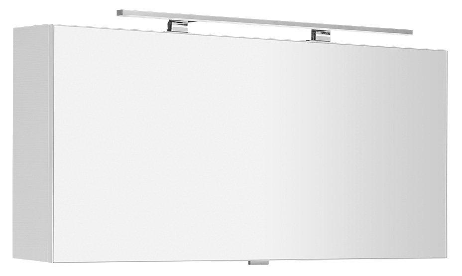 CLOE galerka s LED osvětlením 120x50x18cm, bílá (CE120)