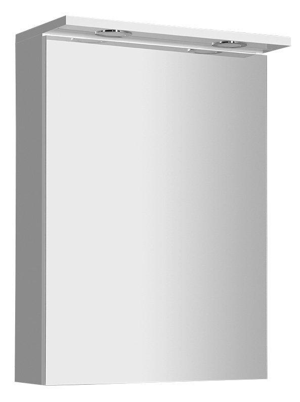 KAWA galerka s LED osvětlením 50x70x25,5cm, bílá