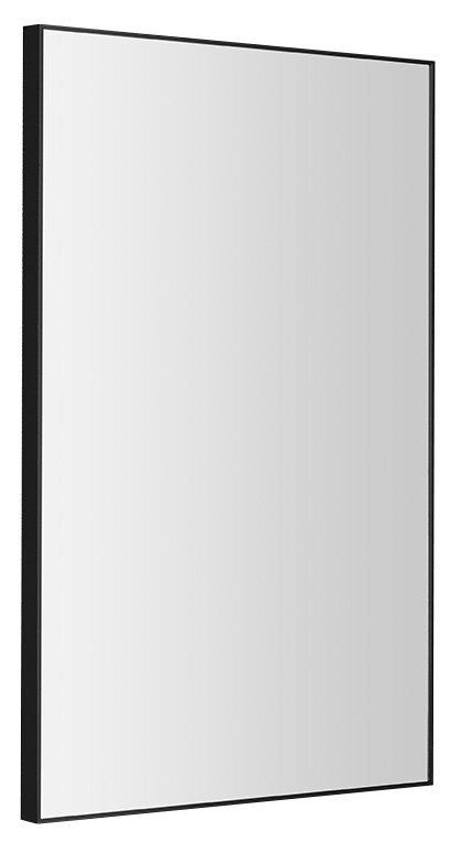 AROWANA zrcadlo v rámu 500x800mm, černá mat