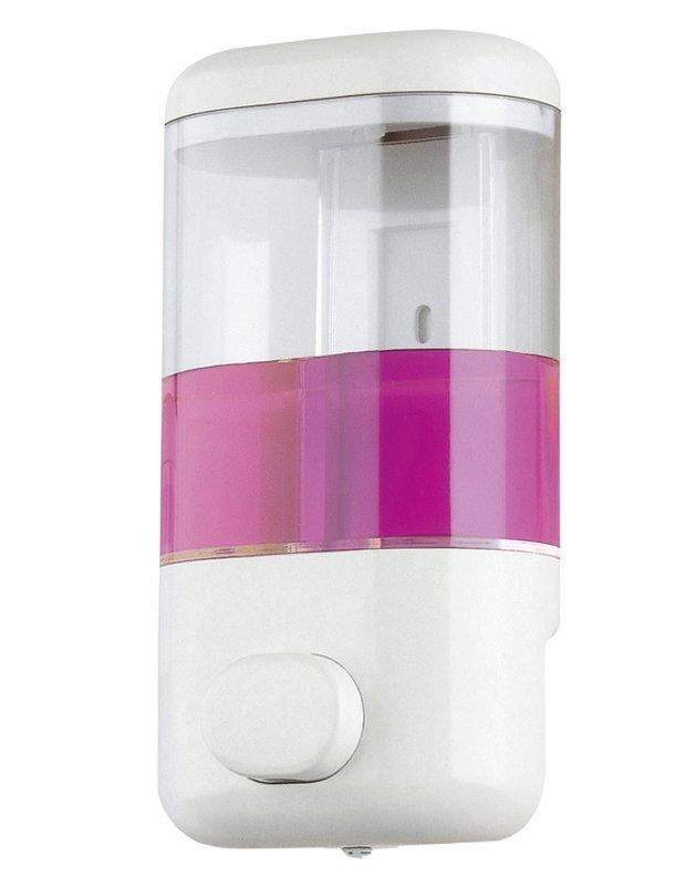 Dávkovač tekutého mýdla na zavěšení 600ml, bílý