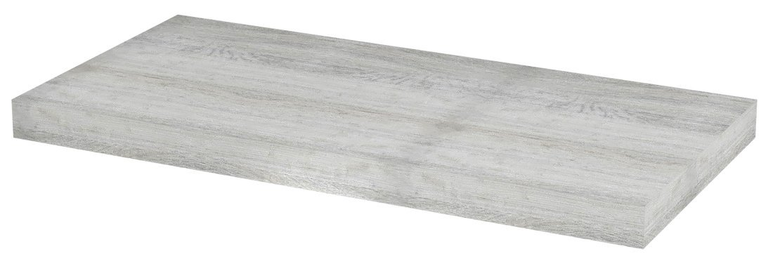 AVICE deska 90x39cm, dub starobílý