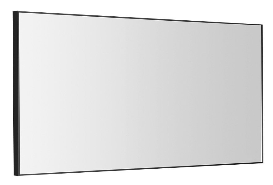 AROWANA zrcadlo v rámu 1000x500mm, černá mat