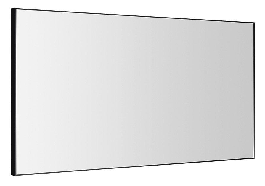 AROWANA zrcadlo v rámu 1200x600mm, černá mat