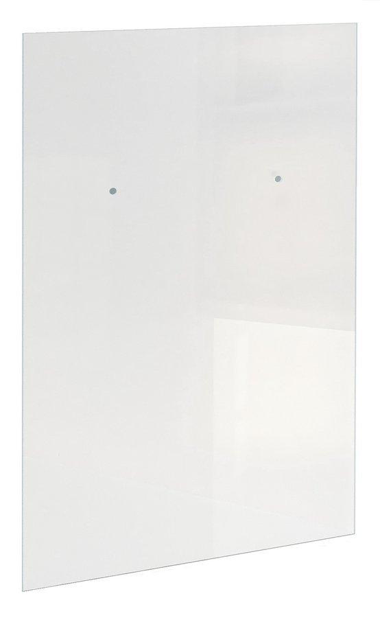 ARCHITEX LINE kalené čiré sklo, 1205x1997x8mm, otvory pro poličku