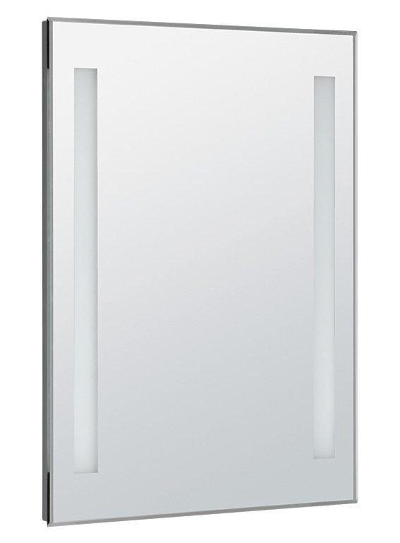 LED podsvícené zrcadlo 60x80cm, kolíbkový vypínač