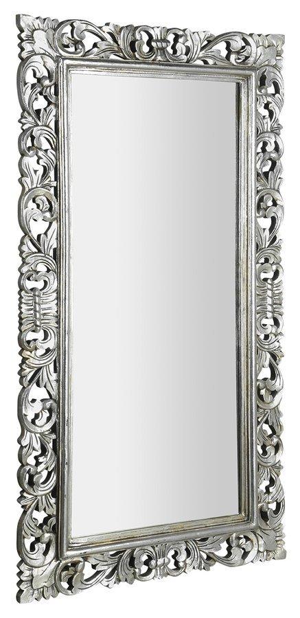 SCULE zrcadlo v rámu, 80x150cm, stříbrná