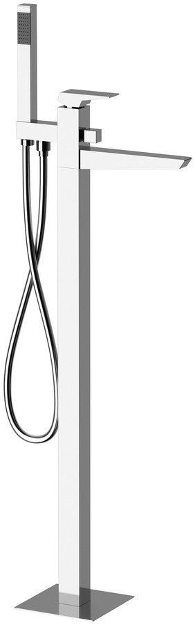 MORADA vanová baterie s připojením do podlahy, chrom