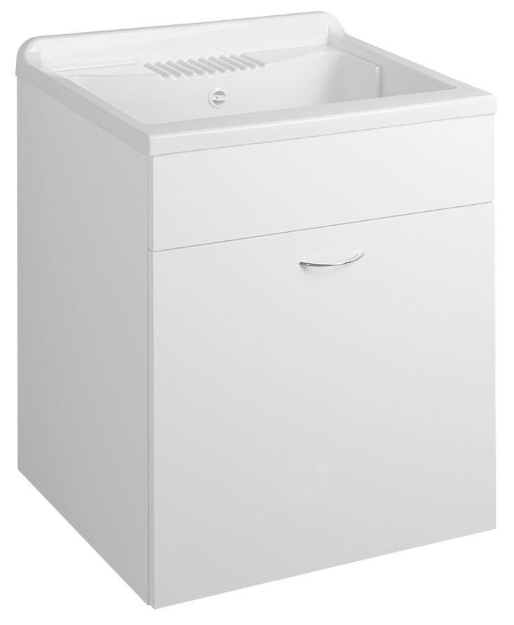 Skříňka pod výlevku 59,5x70x49,4cm, bílá