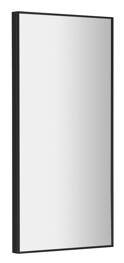 AROWANA zrcadlo v rámu 350x900mm, černá mat